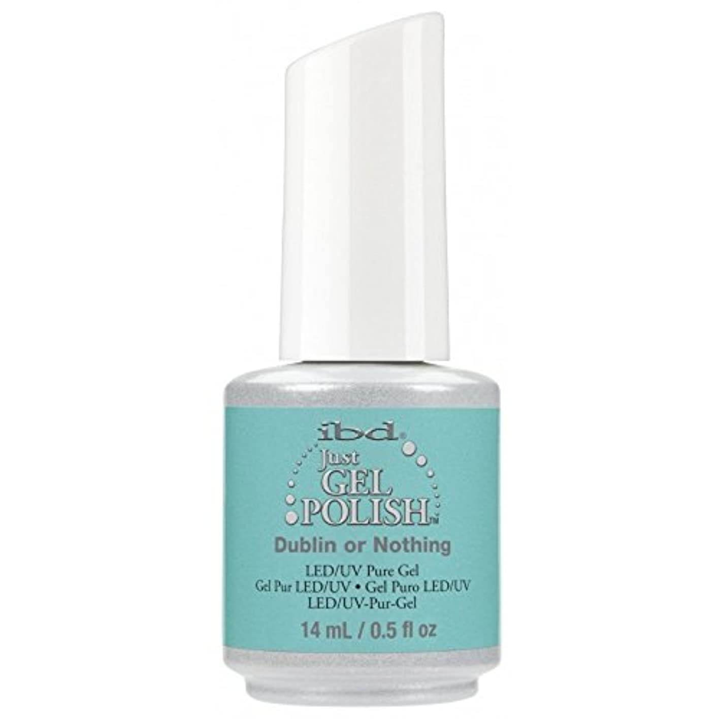 処方する建設木曜日ibd Just Gel Nail Polish - Summer 2017 Destination Colour Collection - Dublin or Nothing - 14ml / 0.5oz