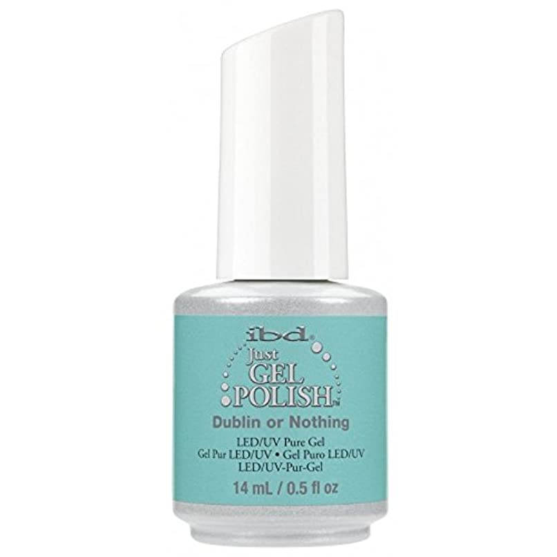 穴危険な甘美なibd Just Gel Nail Polish - Summer 2017 Destination Colour Collection - Dublin or Nothing - 14ml / 0.5oz
