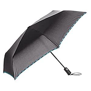 アウトドアプロダクツ 折りたたみ傘 自動開閉 無地 ブラック 全5色 6本骨 55cm 1000109105590