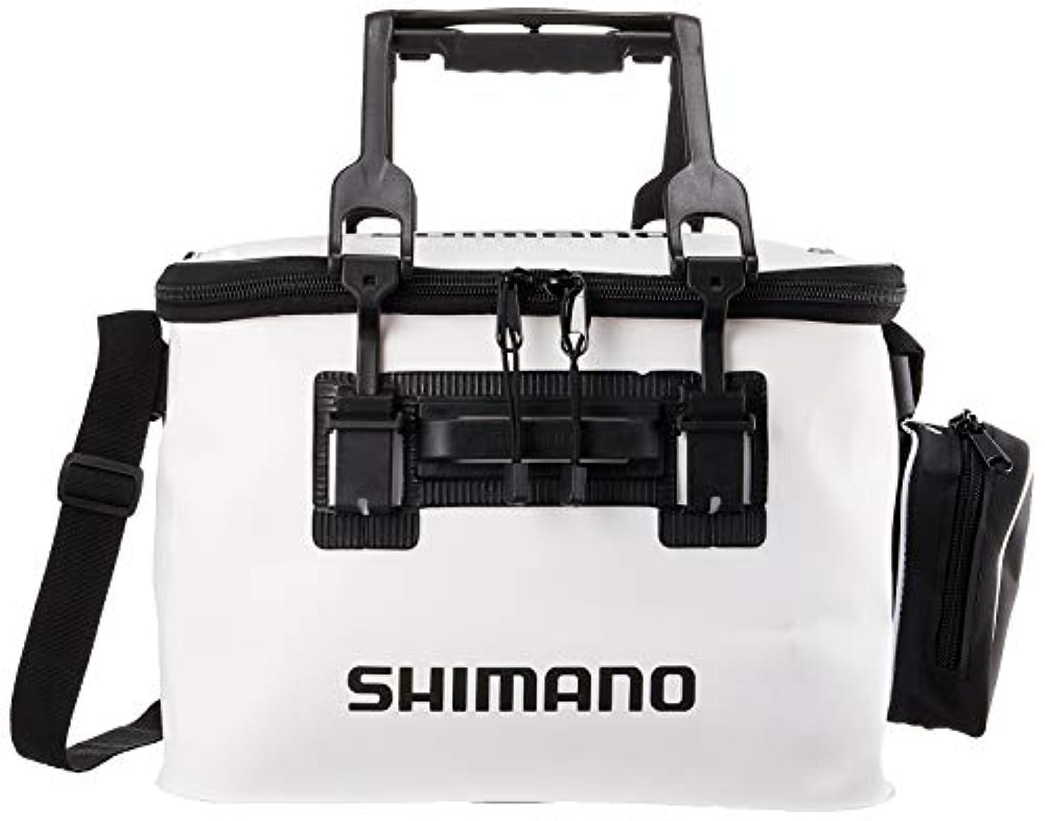 ロッカー繁雑驚くばかりシマノ(SHIMANO)フィッシュバッカン EV BK-026Q ホワイト 40cm
