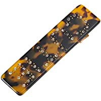Reiko Big Size Leopard Bobby Pins Fashion Chic Hair Clip Barrette Snap On Slide Clips Headwear for Women Girl