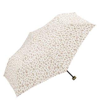 w.p.c(ワールドパーティ) レオパードmini コンパクト折りたたみ傘 (雨傘 日傘 晴雨兼用) 368-116 オフ(Off) F