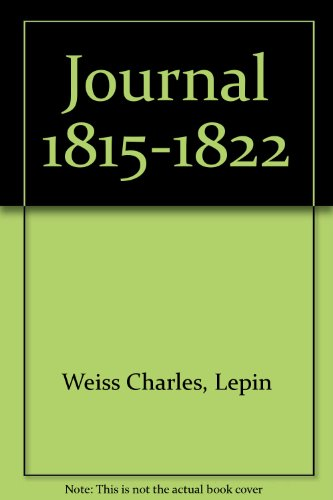 Journal 1815-1822