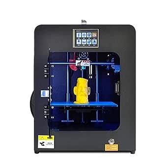 J&T 3Dプリンター本体 卓上3Dプリンター 高精度3D printer 金属構造フレーム フルカラータッチパネル オートレベリング 停電回復機能/フィラメント切れ検出機能付き 運転中LEDライト照明機能 自動シャットダウン 造形サイズ150*135*150mm PLA/ABS/PC/NL等対応 ミニタイプ 省スペース 操作簡易 PLA 1リール付き JT-28-026