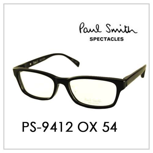 PAUL SMITH ポールスミス  メガネフレーム サングラス 伊達メガネ 眼鏡 PS-9412 OX 54 PAUL SMITH専用ケース付 スペクタクルズ