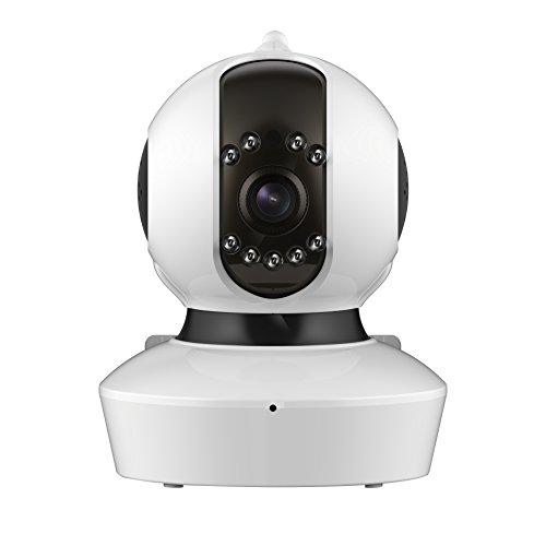 lvshan ワイヤレスIPカメラ(C7823WIP) 720P高画質 無料アプリ簡単設定 屋内用 防犯カメラ ベビーモニター ペット見守り ワイヤレス ネットワークカメラ 遠隔監視と遠隔対話と智能警報と録画機能を備える監視カメラ
