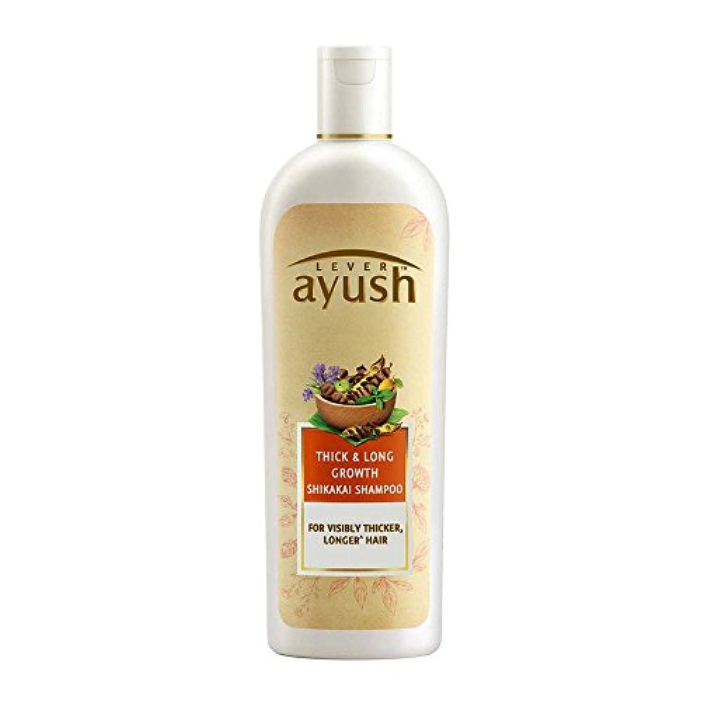 奴隷資産裁判所Lever Ayush Thick and Long Growth Shikakai Shampoo, 175ml - 並行輸入品 - レバーアユッシュシック&ロンググローブシカカイシャンプー、175ml