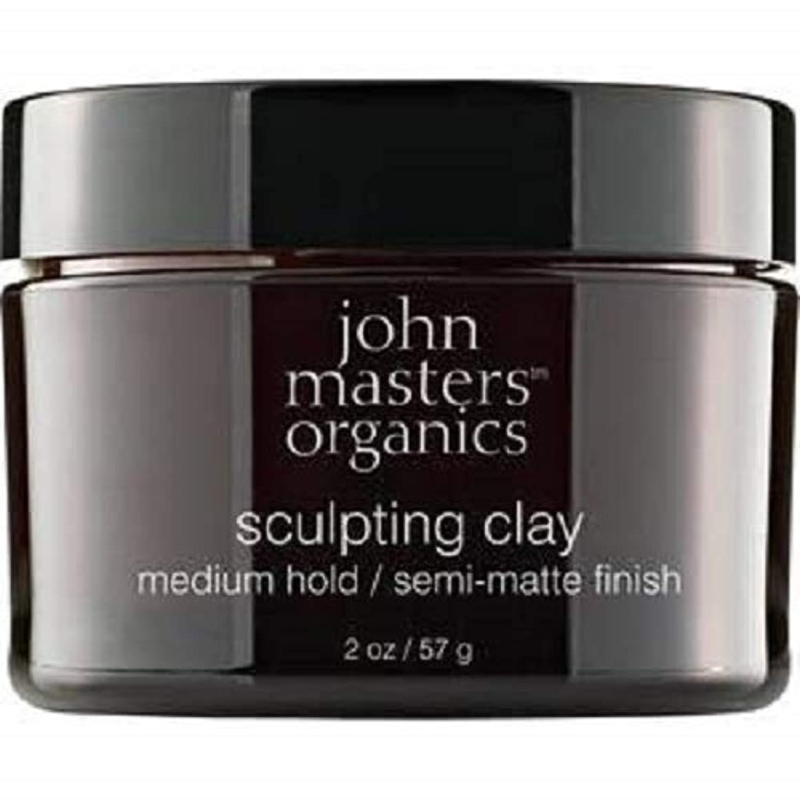 精神医学死んでいる間欠John Masters Organics Sculpting Clay medium hold / semi-matt finish 2 OZ,57 g