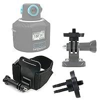 DURAGADGETプレミアム品質Geonaute 360カメラアクションカメラ手首マウント–調節可能手首ストラップハンドルマウントFastening for新しいGeonaute 360
