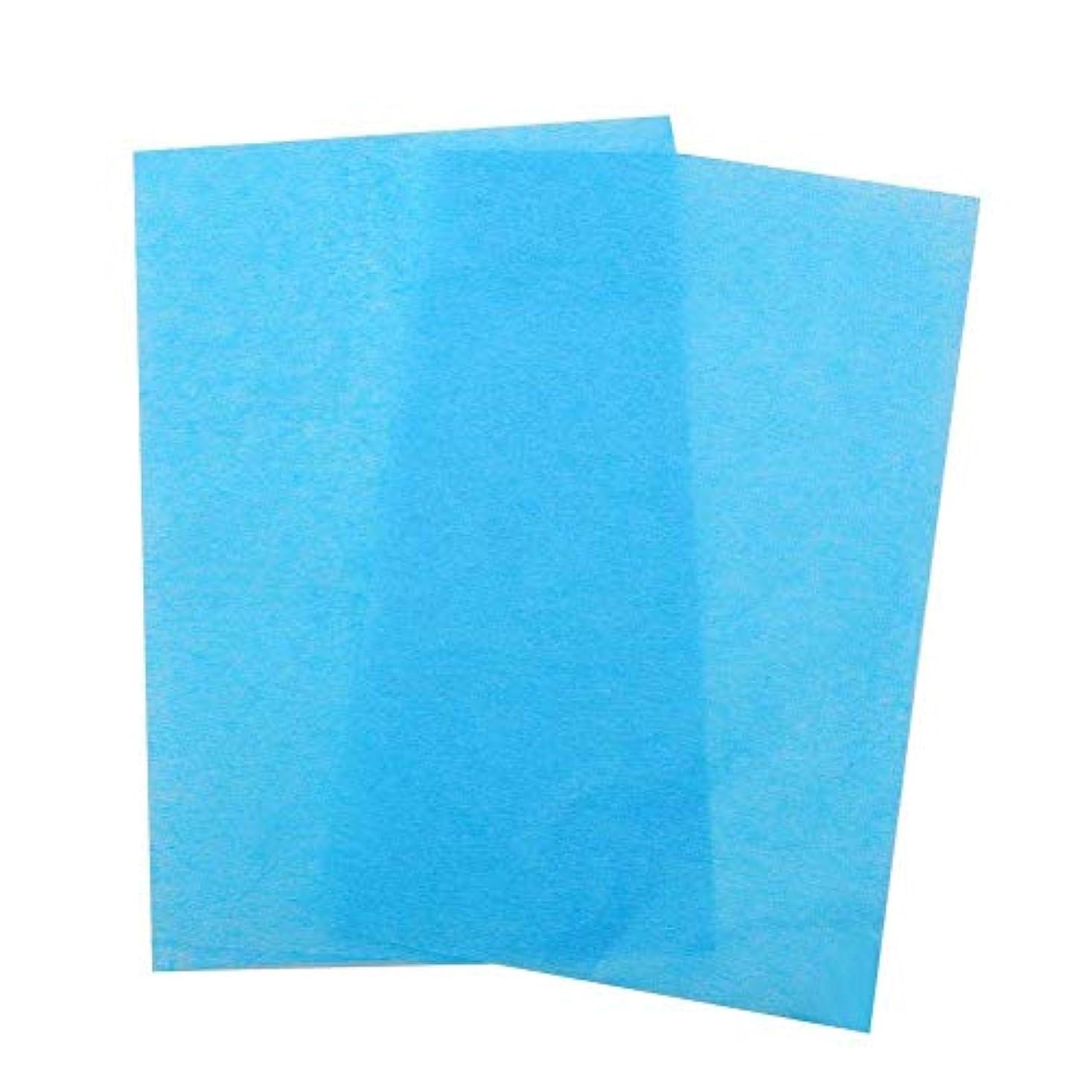 一部自伝の3色50ピース両面、オイル吸収組織フェイスブロッティングシートオイルブロッティング紙(03)