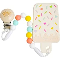Glitter and Spice Ice Cream Bar Teether [並行輸入品]