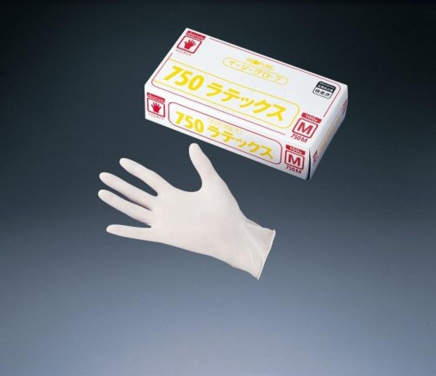 雑種化学薬品ホラーイージーグローブ ラテックス(粉付)
