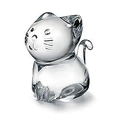 バカラ BACCARAT ネコ Minimals クリスタル フィギュア 2610097 「並行輸入品」