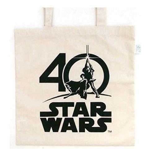 スターウォーズ エコマーク付コットンバッグ(40TH) STAR WARS 40周年 [289149]