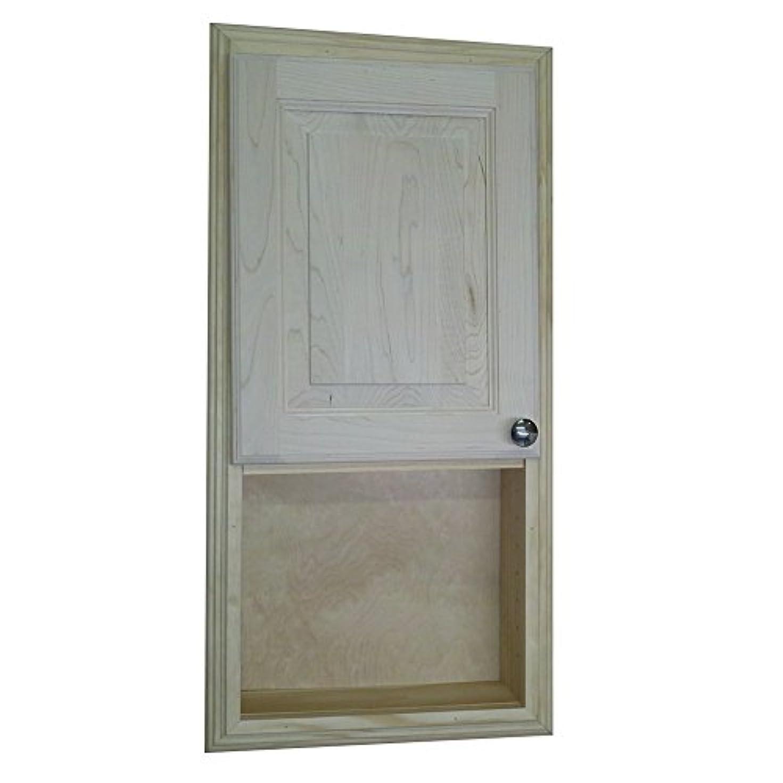バンケット束栄光の木製キャビネットDirect Baldwin Recessed in the壁Baldwin薬ストレージキャビネットと、オープンシェルフ30