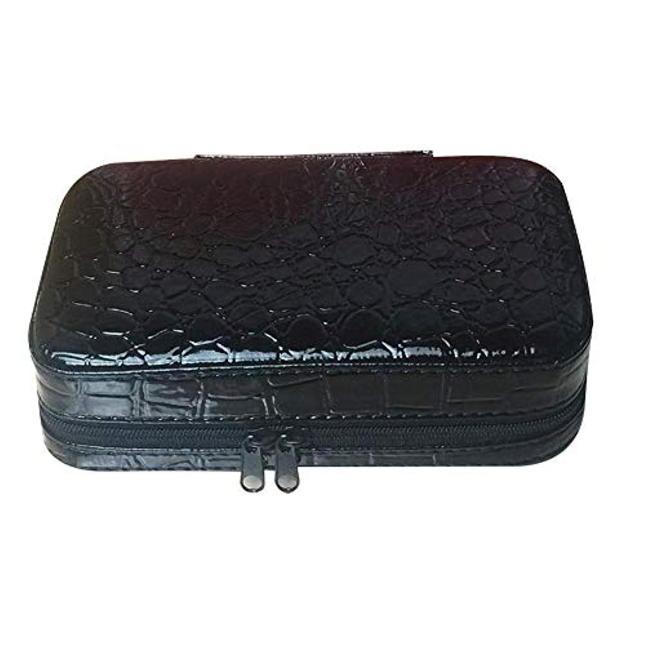 Newfashion アロマポーチ エッセンシャルオイル収納ケース アロマオイル収納ボックス 香水収納ポーチ 化粧ポーチ 耐震 大容量 携帯便利 32本用