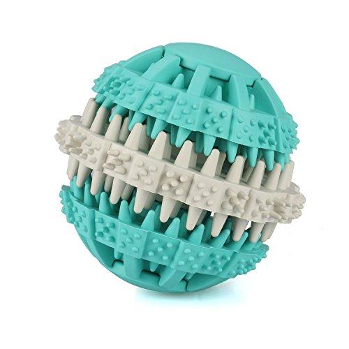 MixMart 犬用 噛むおもちゃ 歯磨き玩具 噛むおもちゃ ラバー製 餌入れ おやつおもちゃ 猫用...