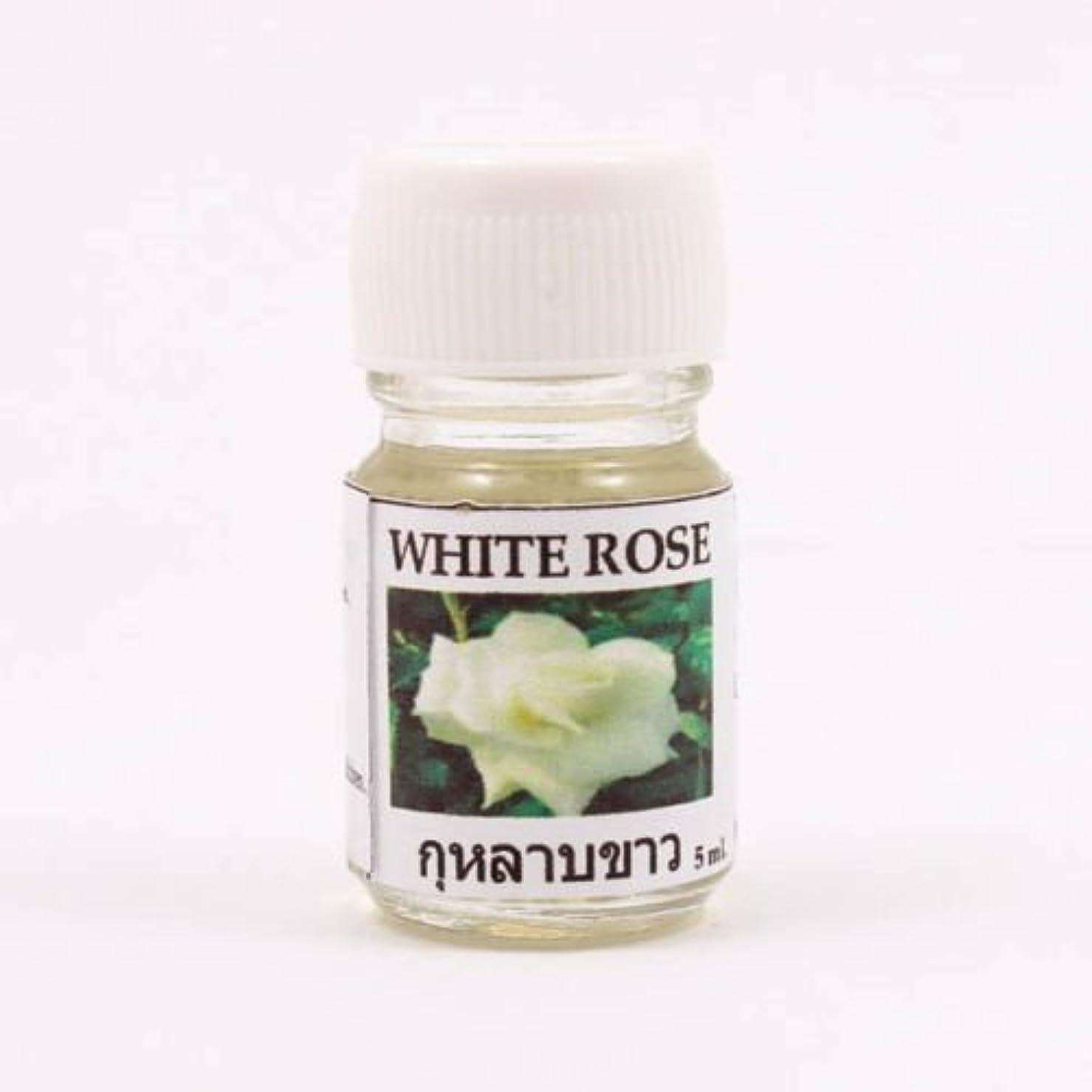 中に遺産プレート6X White Rose Aroma Fragrance Essential Oil 5ML. Diffuser Burner Therapy