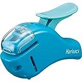 コクヨ ホチキス 針なしステープラー ハリナックス コンパクトアルファ 青 SLN-MSH305B