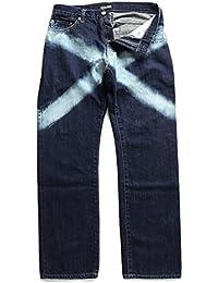 【Z16UQ01】 ゼファレン Zephyren ジーンズ デニム ロングパンツ 般若 かっこいい オシャレ 長ズボン アメカジ 正規品 インディゴダークブルー
