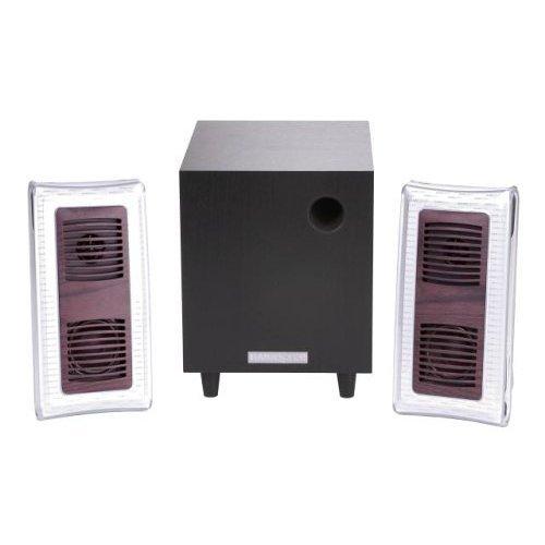 HANNspree Berlin Wood 2.1 Channel Speaker System (KS04-21U1-001) [並行輸入品]