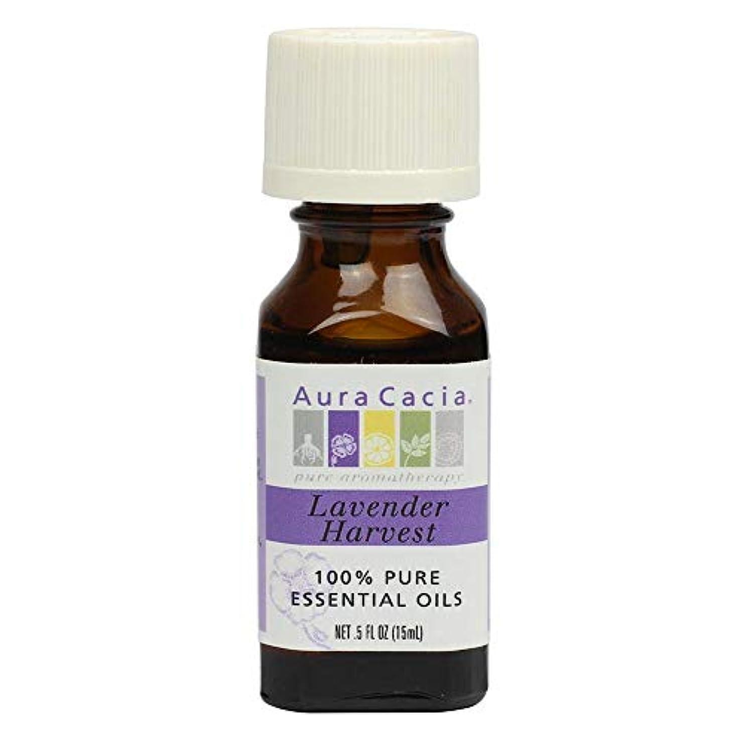 割り当てモルヒネ神経Aura Cacia - 精油のラベンダーの収穫 - 0.5ポンド