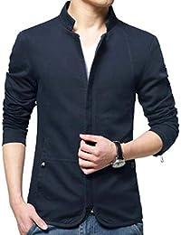 JHJSC ジャケット メンズ コート ブルゾン 秋冬 無地 ビジネス カジュアル 大きいサイズ