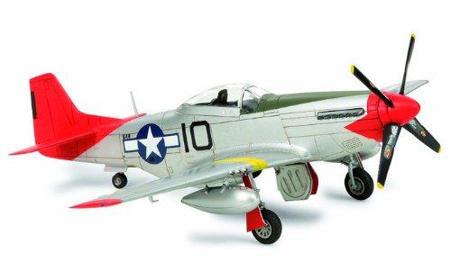 """スケール限定シリーズ 1/72 ノースアメリカン P-51D マスタング """"タスキーギ エアメン"""" 25148"""
