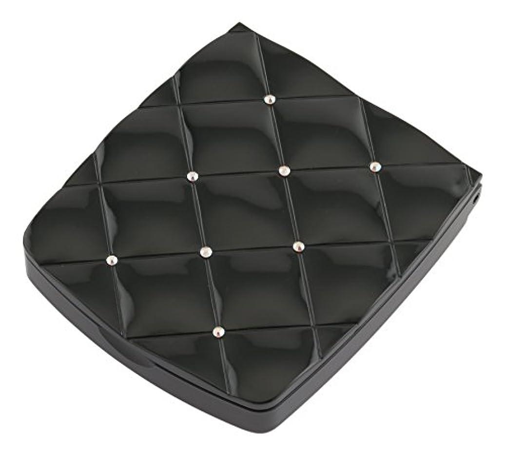 ルーチン一族沼地貝印 LED付き約5倍拡大鏡 S 黒 KQ0332