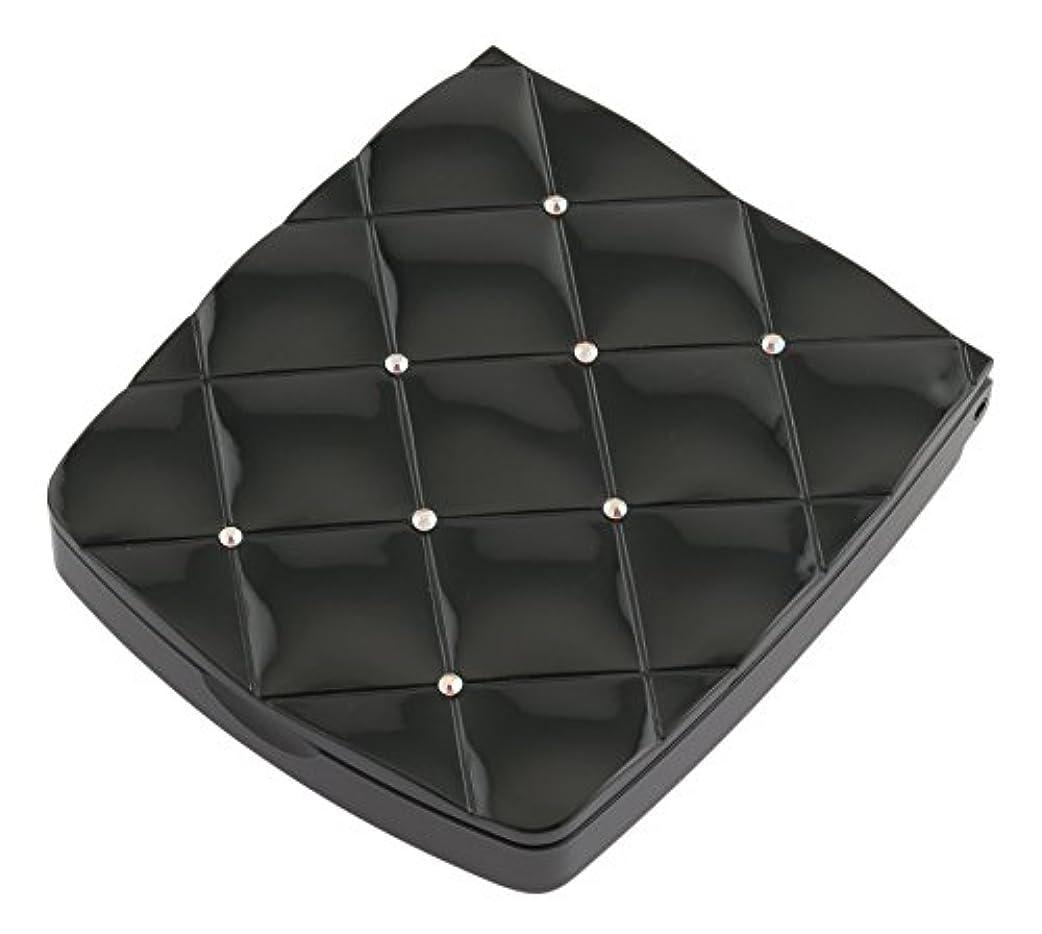 シャッフル苦難補充貝印 LED付き約5倍拡大鏡 S 黒 KQ0332