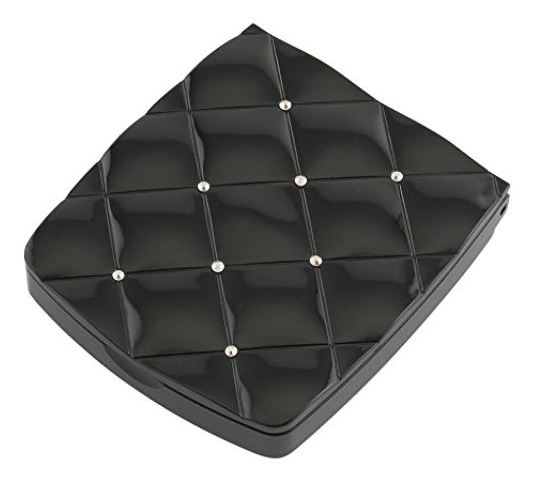 帽子騒乱嫌がる貝印 LED付き約5倍拡大鏡 S 黒 KQ0332