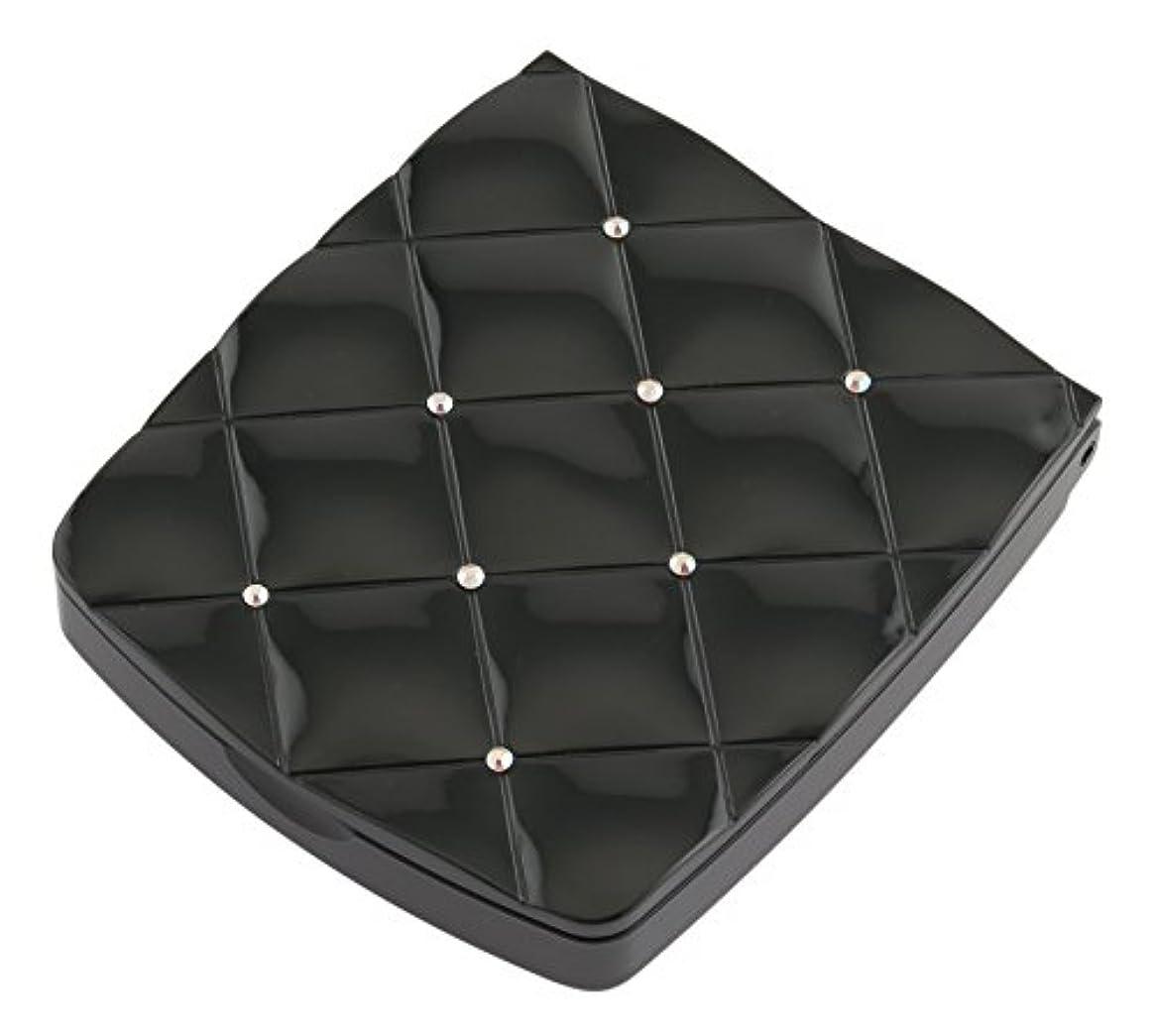 感性生き返らせる定常貝印 LED付き約5倍拡大鏡 S 黒 KQ0332