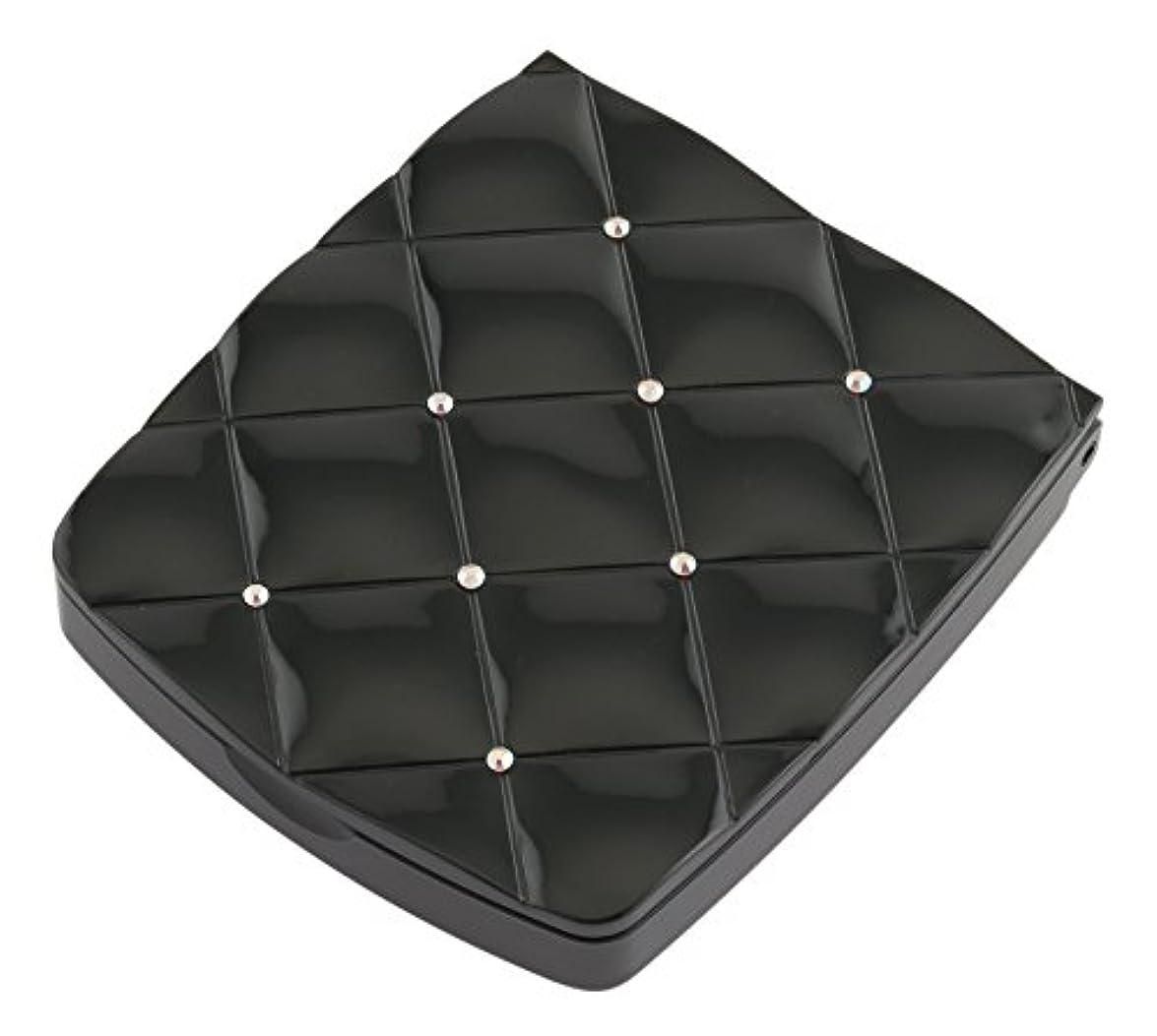 気候の山文言眉貝印 LED付き約5倍拡大鏡 S 黒 KQ0332