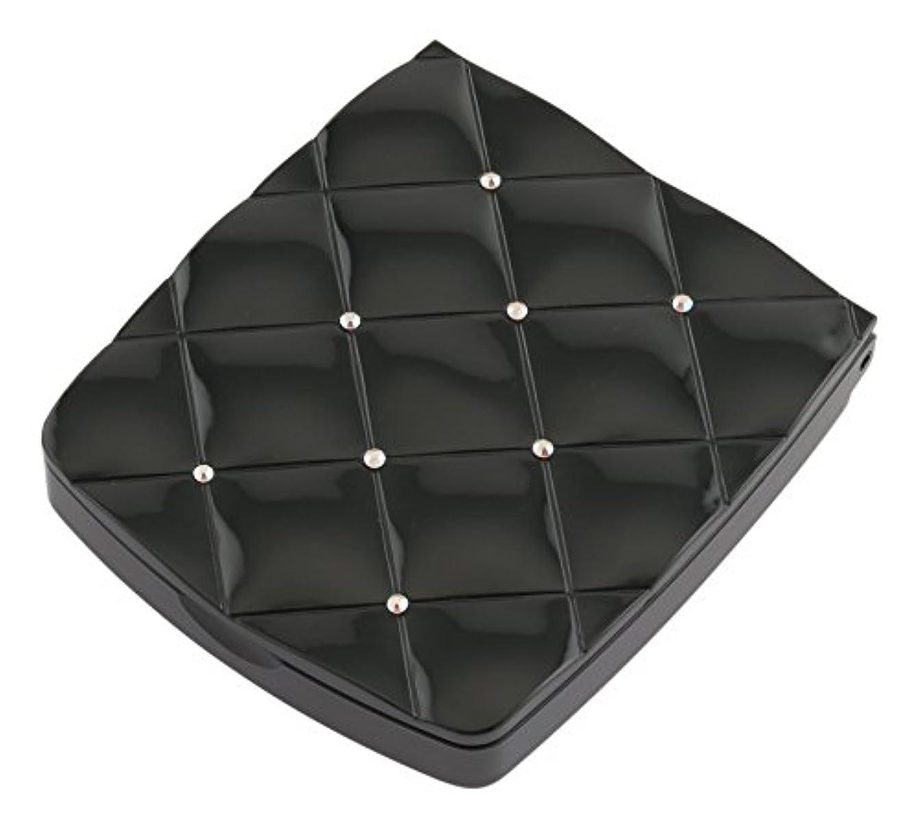 演じる追う蓋貝印 LED付き約5倍拡大鏡 S 黒 KQ0332