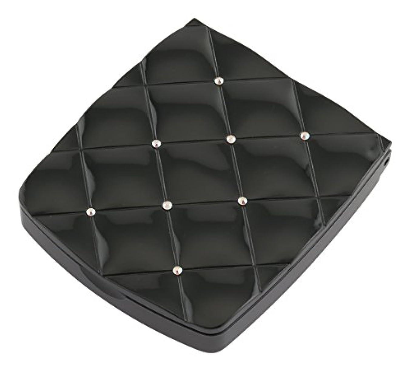 構成する矢スキャンダラス貝印 LED付き約5倍拡大鏡 S 黒 KQ0332