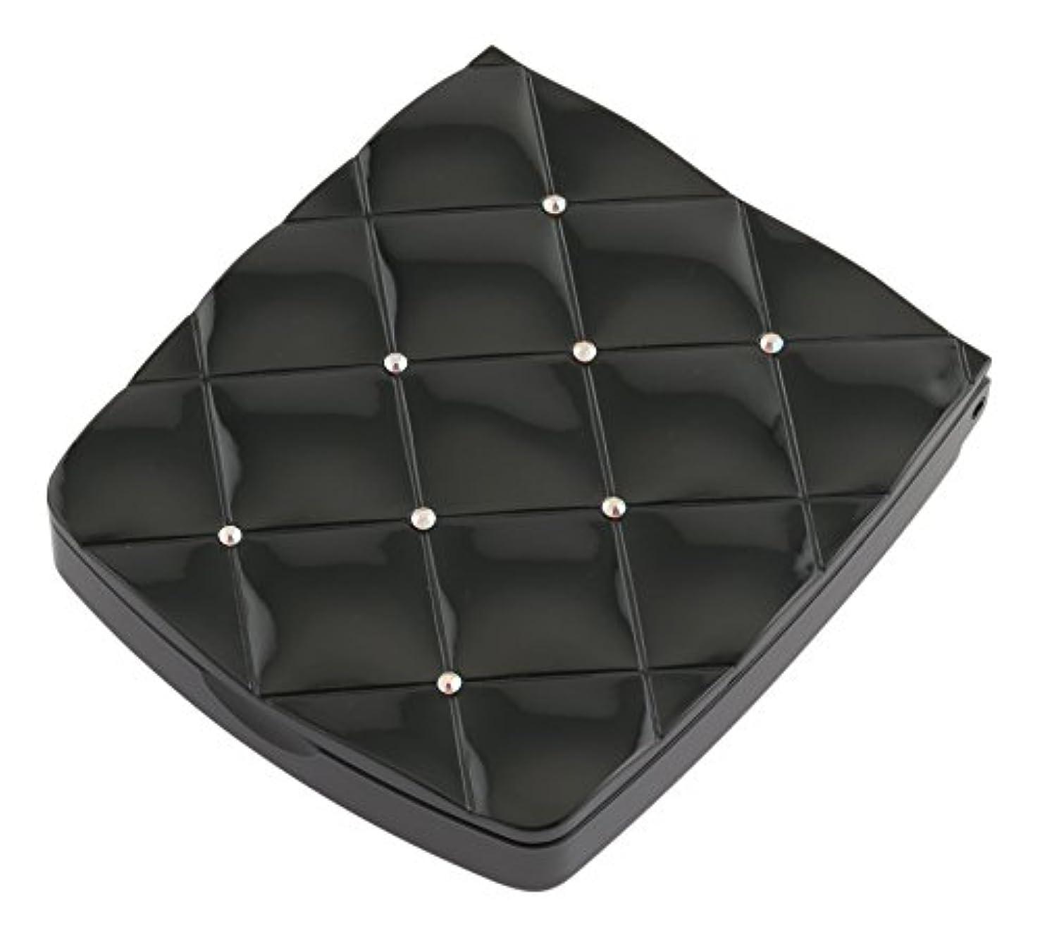 再集計レディ砲兵貝印 LED付き約5倍拡大鏡 S 黒 KQ0332