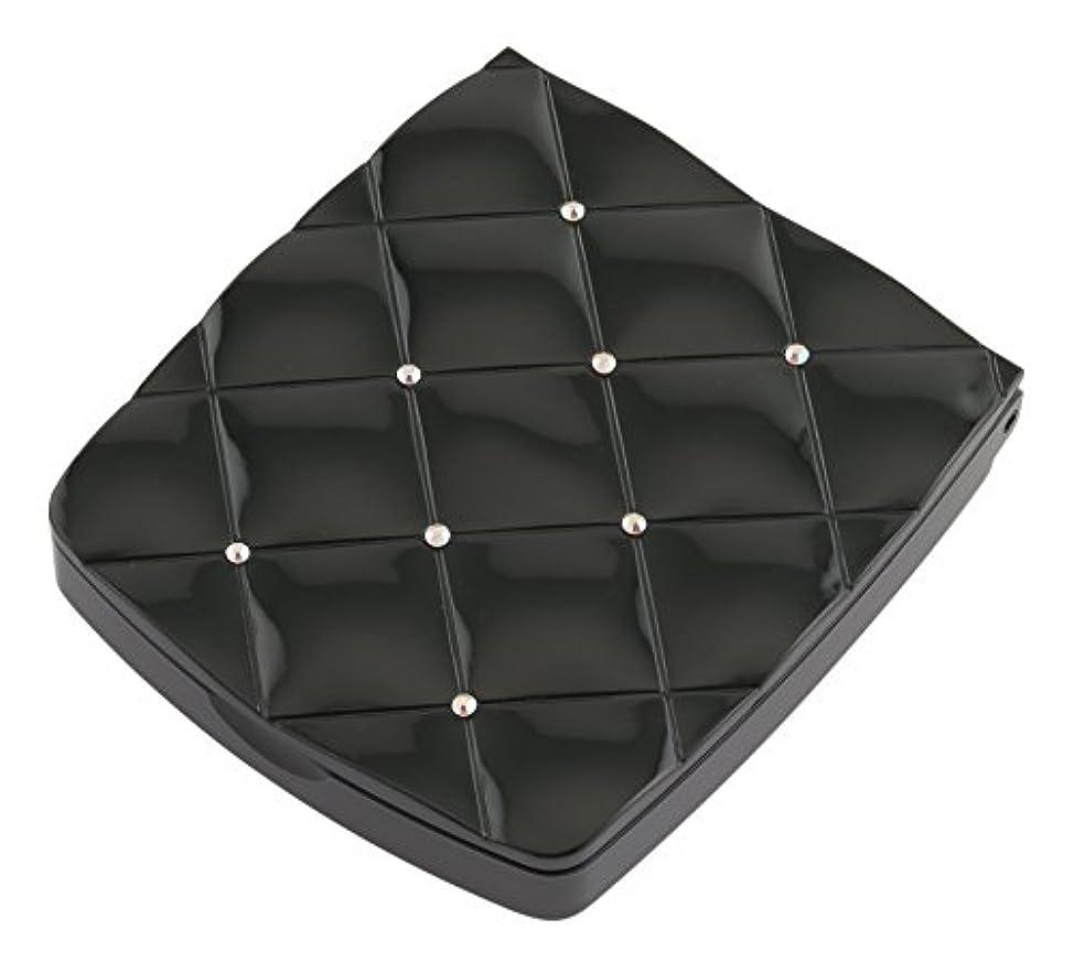 月曜とは異なり晴れ貝印 LED付き約5倍拡大鏡 S 黒 KQ0332