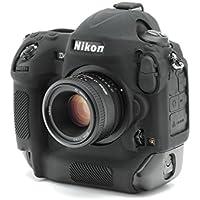 DISCOVERED イージーカバー Nikon D4 & D4S  カメラカバー 液晶保護フィルム&スクリーンプロテクター付 (ブラック)