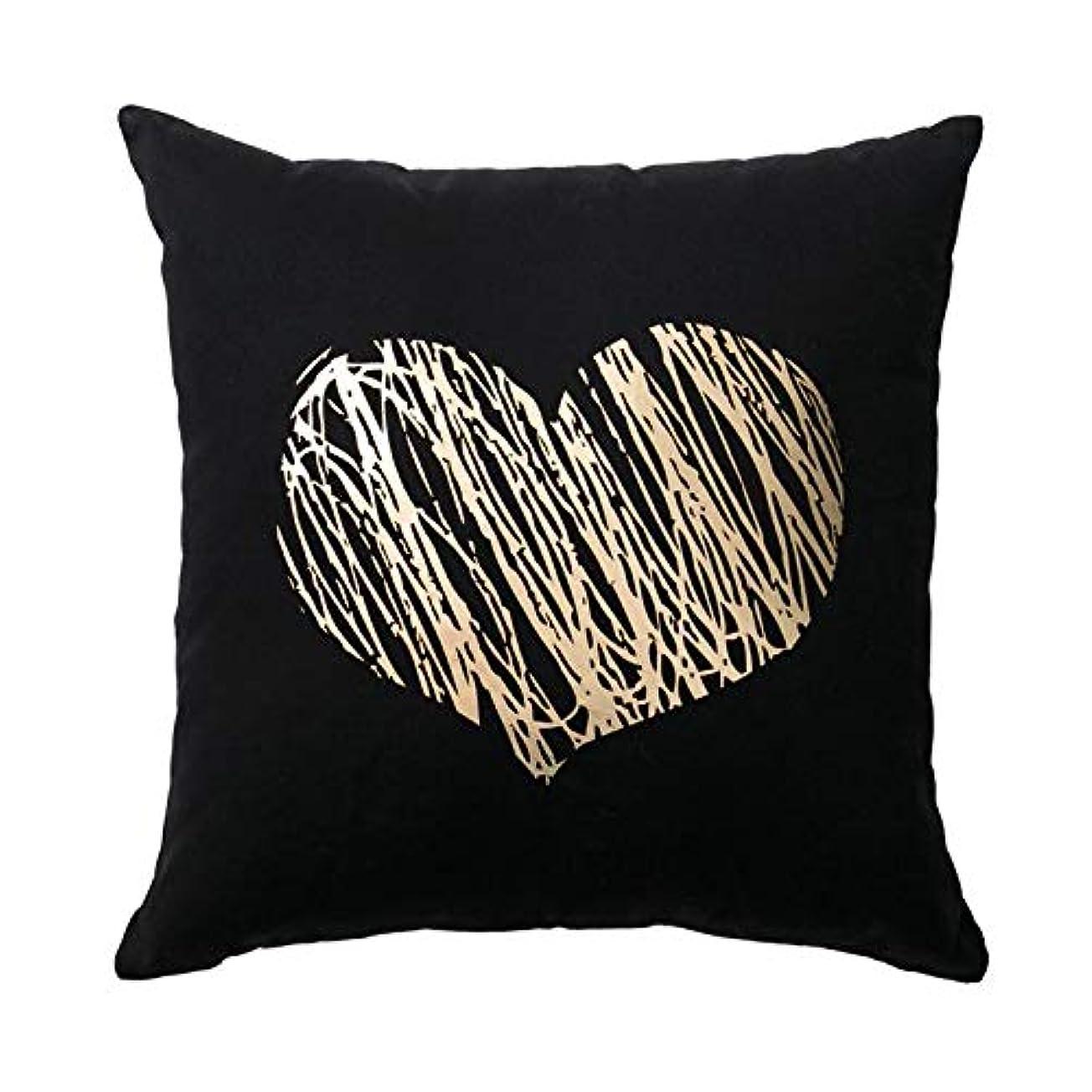 プーノパケット不運LIFE 黄金の幾何学的フラミンゴブロンズクッション装飾枕愛金箔枕家の装飾ソファスロー枕 17*17 インチ クッション 椅子