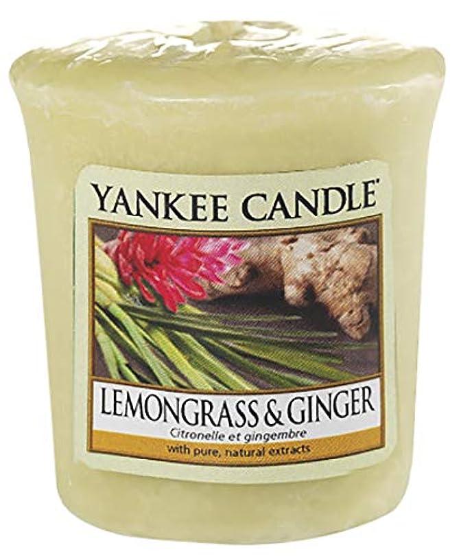 許される決定市場ヤンキーキャンドル サンプラー レモングラス&ジンジャー 1個