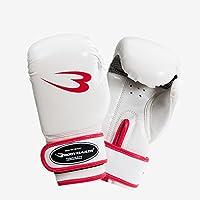 ボディメーカー(BODYMAKER) フィットネスボクシンググローブ 12OZ ホワイト KG02412WH