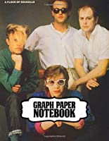 Notebook: A Flock of Seagulls English New Wave And Synth-Pop Music Band, Inspirational Quote, Soft Glossy with Ruled lined Paper for Taking Notes. Teenage Girls Boys Kids Soft Glossy Cover Adults Paper 7.5 x 9.25 Inches 110 Pages