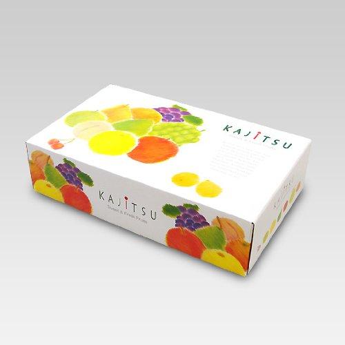【メーカー直送品のため代引不可】パレット 中長 40セット (フルーツ用 果物用 ギフトボックス ギフト箱 贈答用 箱)