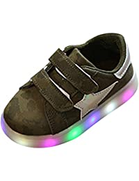 LEDスニーカー キッズスニーカー 光る靴 男女通用 子供用 13cm-18.2cm カップル kootk