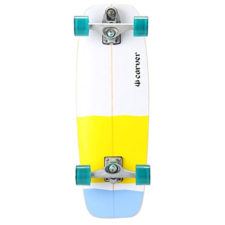 Carver Skateboards [ カーバースケートボード ] 27.50 ミニシモンズ アクア C7 Complete スケボー 並行輸入品 [並行輸入品]