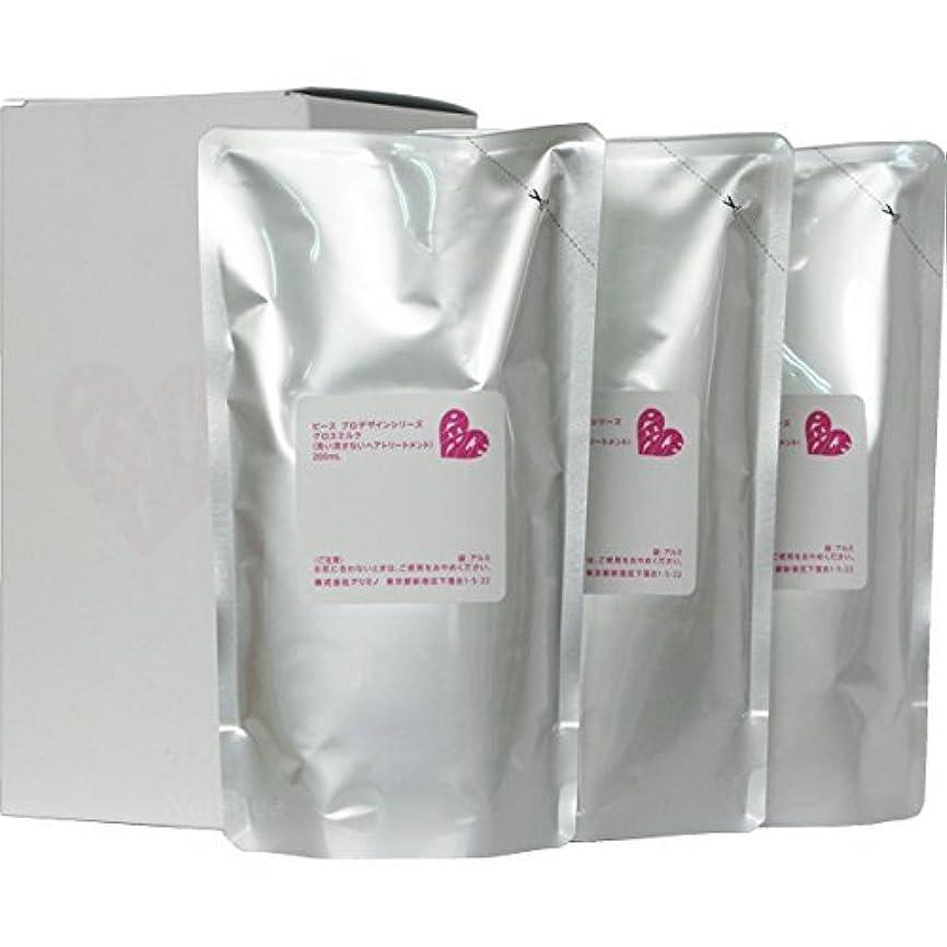 ナインへ起こりやすいドラマピース プロデザインシリーズ グロスミルク ホワイト リフィル 200ml×3