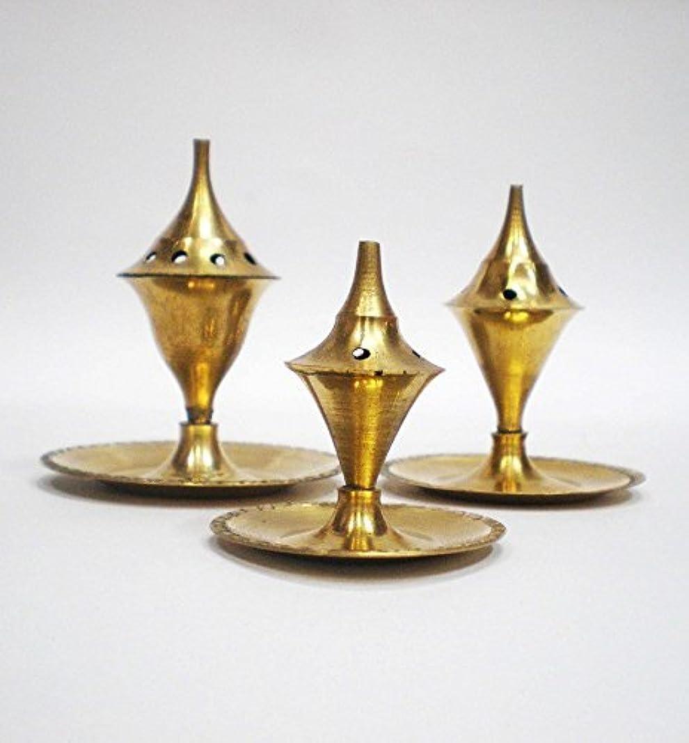 セクタ勤勉な船尾Incense Holder - Brass