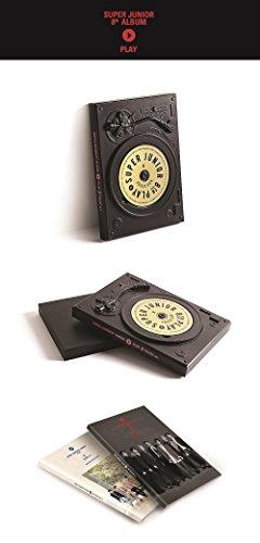スーパージュニア - PLAY [PAUSE ver.] (Vol.8 Special Album) CD+Photobook+Folded Poster [KPOP MARKET特典: 追加特典フォトカード] [韓国盤]