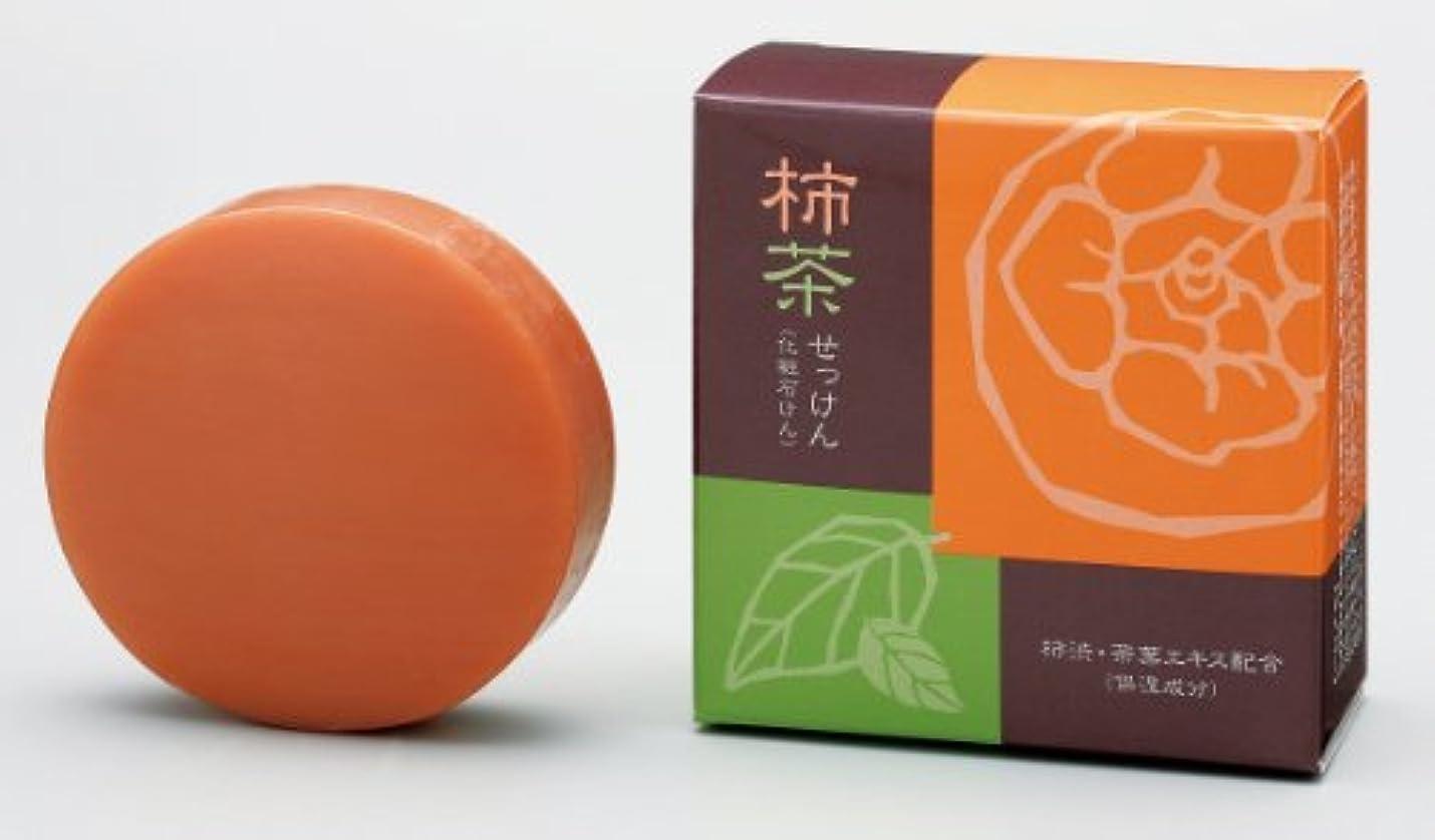 出力タップ重要な柿茶石けん 12個組