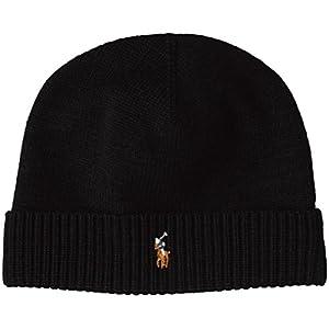 (ポロ ラルフ ローレン)POLO RALPH LAUREN(ポロ ラルフ ローレン) ワンポイント ニット帽 6F0552 001 POLO BLACK F